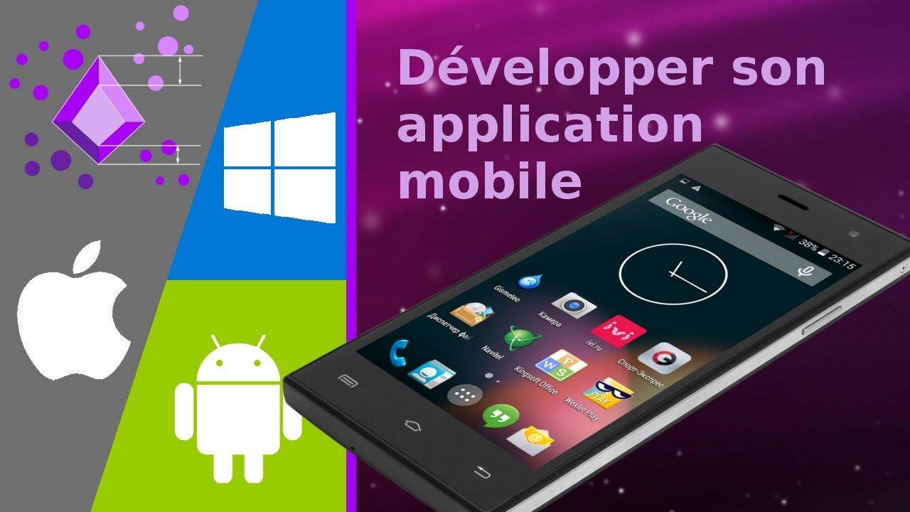 Développer une application